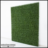 Plush Japanese Boxwood Indoor Artificial Living Wall 72inL x 60inH