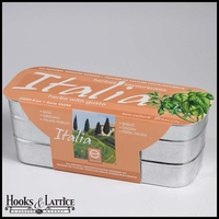 Italia Herb Garden Window Box Kit