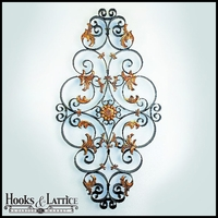 Italian Gold Scroll Wall Grille