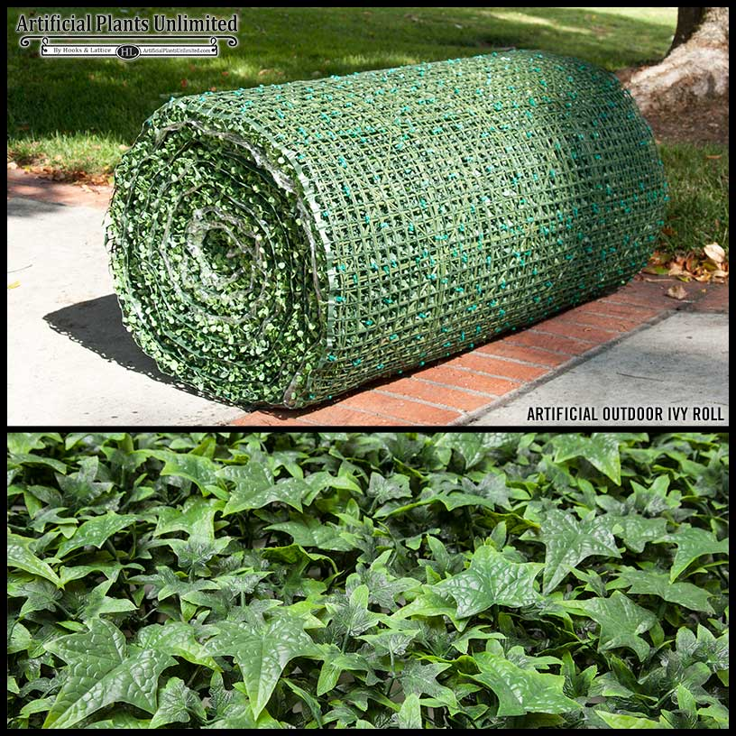 Outdoor Artificial Ivy Rolls Artificial Plants Unlimited