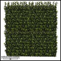 10in. X 10in. Japanese Boxwood Angled Foliage Tile, Indoor