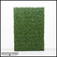 Plush Japanese Boxwood Indoor Artificial Living Wall 48inL x 24inH