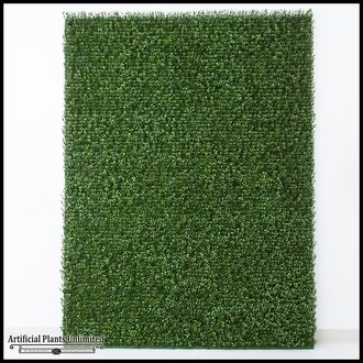 Japanese Boxwood Indoor Artificial Living Wall 72inL x 60inH