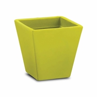 Jardin 14in. Tapered Square Planter - Wasabi