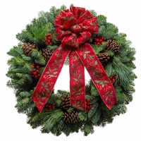 Jolly Holiday Christmas Wreath