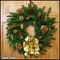 Golden Christmas Dreams Wreath - 24in.