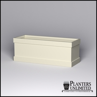 Knox Fiberglass Rectangle Planter