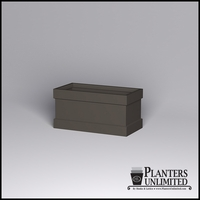 Knox Fiberglass Rectangle Planter 60in.L x 30in.W x 30in.H