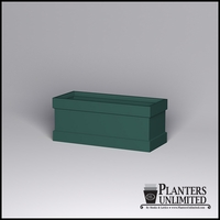 Knox Fiberglass Rectangle Planter 72in.L x 30in.W x 30in.H