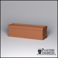 Knox Fiberglass Rectangle Planter 96in.L x 30in.W x 30in.H
