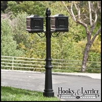 La Costa Double Mail Box Complete System