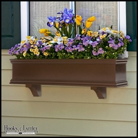 Laguna Bronze Premier Direct Mount Flower Box