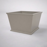 Laguna Tapered Premier Composite Commercial Planter 36in.L x 36in.W x 24in.H