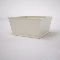 Laguna Tapered Premier Composite Commercial Planter 48in.L x 48in.W x 24in.H