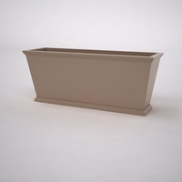 Laguna Tapered Premier Composite Commercial Planter 60in.L x 18in.W x 24in.H