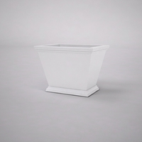 Laguna Tapered Premier Composite Commercial Planter 24in.L x 18in.W x 18in.H