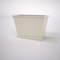 Laguna Tapered Premier Composite Commercial Planter 36in.L x 18in.W x 24in.H