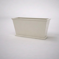 Laguna Tapered Premier Composite Commercial Planter 48in.L x 18in.W x 24in.H