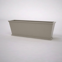 Laguna Tapered Premier Composite Commercial Planter 72in.L x 18in.W x 24in.H