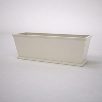 Laguna Tapered Premier Composite Commercial Planter 72in.L x 24in.W x 24in.H