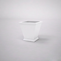 Laguna Tapered Premier Composite Commercial Planter 18in.L x 18in.W x 18in.H
