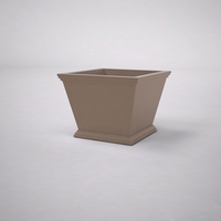 Laguna Tapered Premier Composite Commercial Planter 24in.L x 24in.W x 18in.H