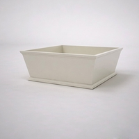Laguna Tapered Premier Composite Commercial Planter 48in.L x 48in.W x 18in.H
