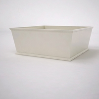 Laguna Tapered Premier Composite Commercial Planter 60in.L x 60in.W x 24in.H
