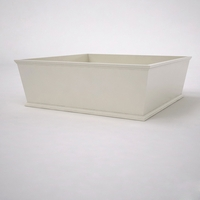 Laguna Tapered Premier Composite Commercial Planter 72in.L x 72in.W x 24in.H