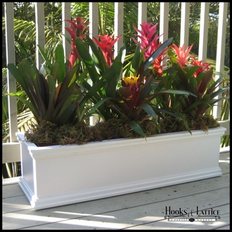 Laguna Window Box Planters on Casters