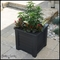Lakeview 16in. Square Patio Planter - Black