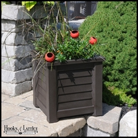 Lakeview 16in. Square Patio Planter - Espresso