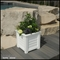Lakeview 16in. Square Patio Planter - White