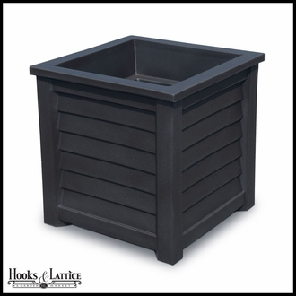 Lakeview 20in. Square Patio Planter - Black