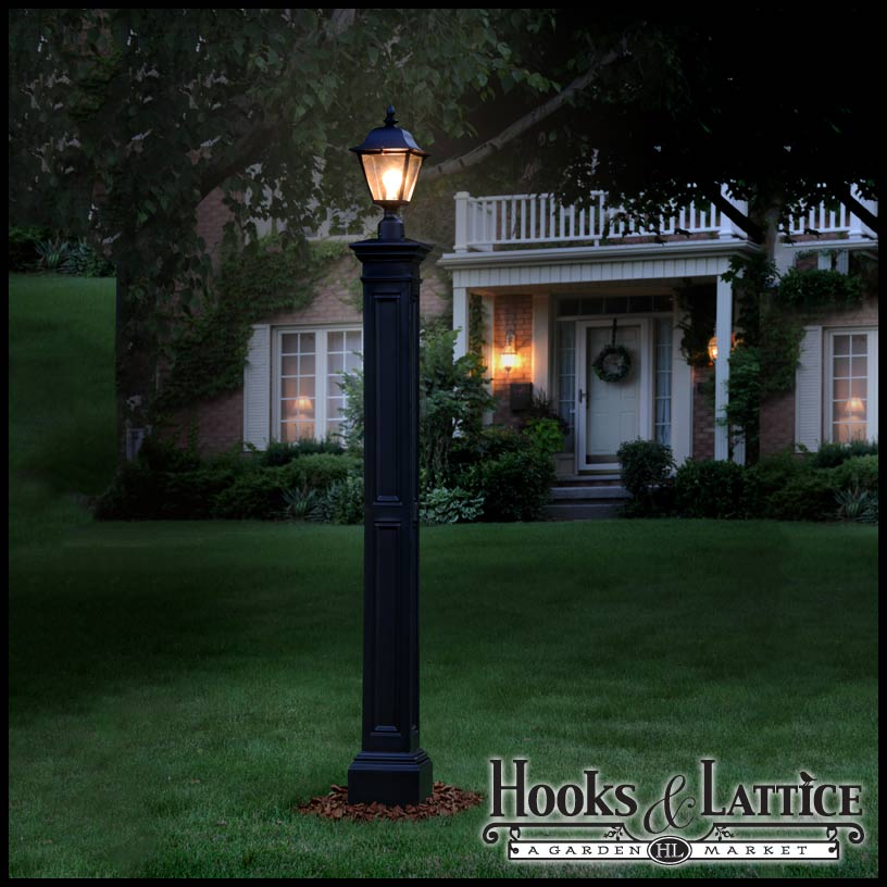 Exterior lamp posts decorative lamp post residential outdoor lamp posts click to enlarge aloadofball Images
