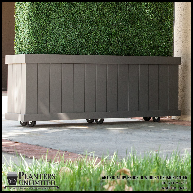 Nice Large Cedar Planters Click To Enlarge