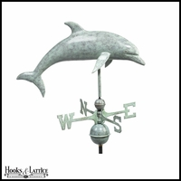 Large Dolphin Weathervane