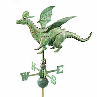 Large Dragon Weathervane