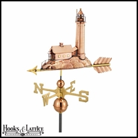 Large Lighthouse Weathervane