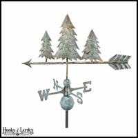 Large Pine Tree Weathervane