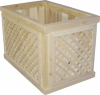 Lattice Deck Planters