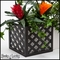 Lattice Flower Box Holder - Pair