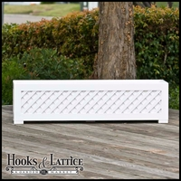 "Lattice Premier Deck Planter w/ Feet 36""x12""x12"""