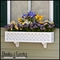 """Lattice Premier Window Box w/ """"Easy Up"""" Cleat Mounting System"""