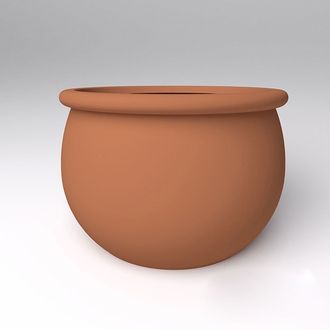 Laurelwood Round Planter