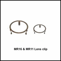 Lens Clip For Mr16 Outdoor Lighting Fixtures