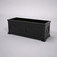 Lexington Premier Composite Commercial Planter 48in.L x 18in.W x 18in.H
