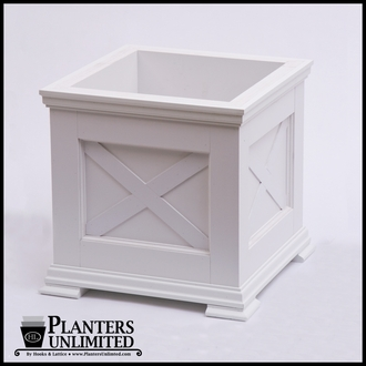 Lexington Premier Composite Commercial Planter 24in.L x 24in.W x 18in.H