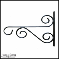 Light Duty Iron Swirl Hook
