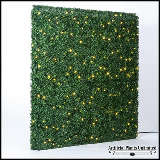 Lighted Boxwood Hedge, Assorted Sizes